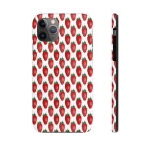Strawberry Smoothie Phone Case on chezgigis.com