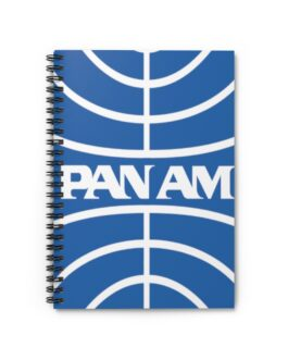 Pan Am Ruled Spiral Notebook
