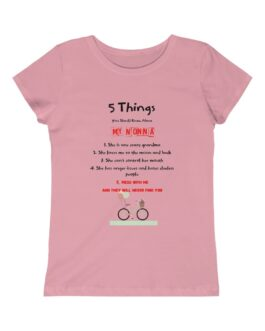 5 Things To Know About Grandma Girls Princess Tee