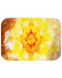 Mandala Sun! Bath Mat
