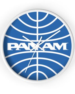 Pan Am Wall Clock
