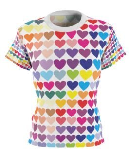 Hearts Of Many Colors Tee