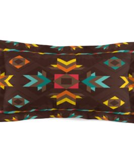 Tribal Patterns Pillow Sham