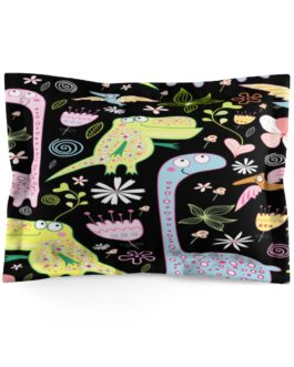 Cutie Pie Dinosaurs Pillow Sham