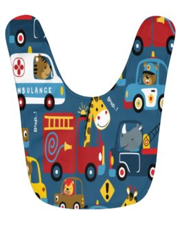 Traffic Is Terrible This Time Of Day Baby Bib