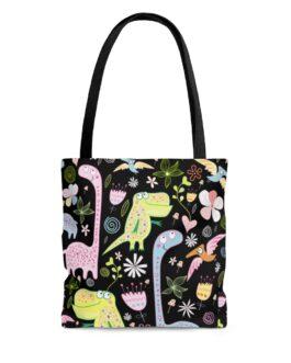 Cutie Pie Dinosaurs Tote Bag