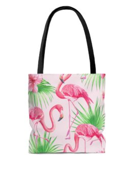 Flamingos On Speed Tote Bag