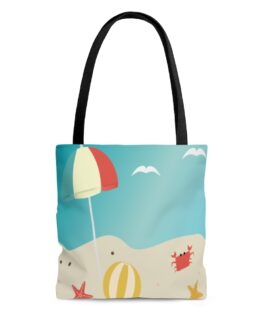 Let's Go To The Beach Tote Bag
