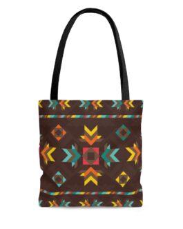 Tribal  Patterns Tote Bag