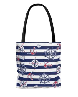 We're In The Navy Now Tote Bag