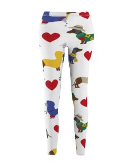 I Heart Dachsunds Leggings