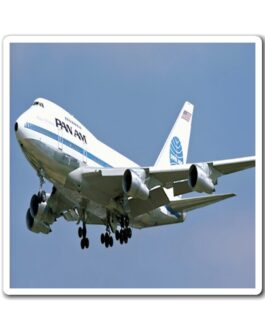 Pan Am 747 In Flight Magnet