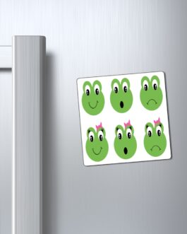 Froggy Faces Magnet