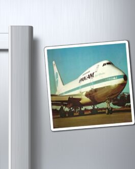 Pan Am 747 Magnet