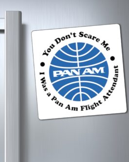 Pan Am Flight Attendant Magnet