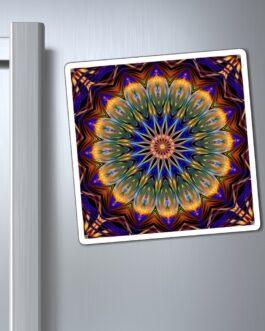 Mandala Ferris Wheel Magnet
