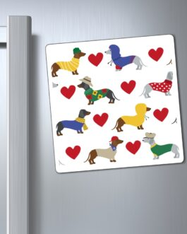 I Heart Dachsunds Magnet
