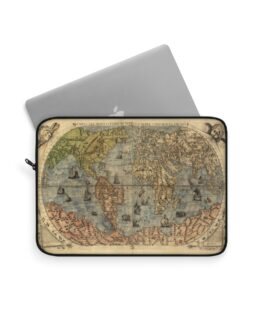 The Old World Map Laptop Sleeve