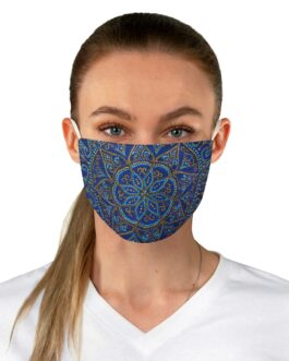 Bounteous Blue Face Mask