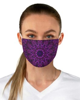 Mandala Purple Sturple Face Mask
