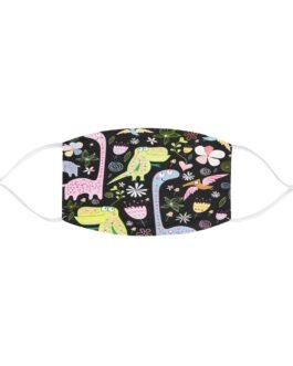 Cutie Pie Dinosaurs Fabric Face Mask
