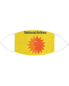 National Airlines Fabric Face Mask