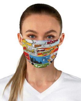 Superhero Fabric Face Mask