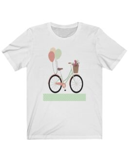 Bicycle And Balloons Happy Time Tee