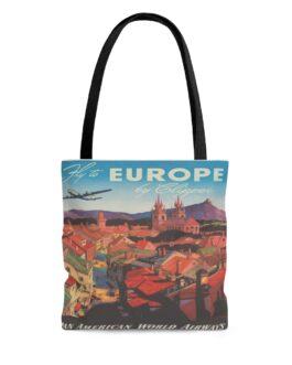 Pan Am To Europe Tote Bag