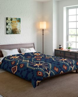 Tribal Blues Comforter