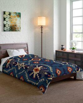 Tribal Blues Comforter