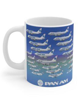 Pan Am Aircraft Mug