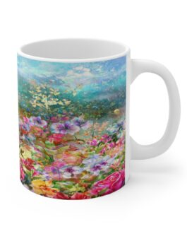 Wildflowers In A Field Mug