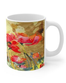 Poppies In Bloom Mug
