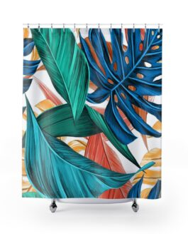 In The Jungle The Mighty Jungle Shower Curtains