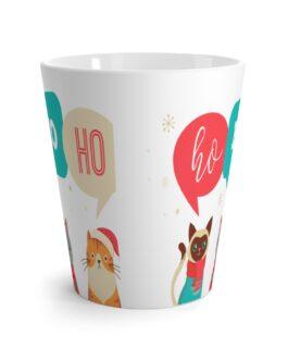 Ho Ho Ho Latte Mug