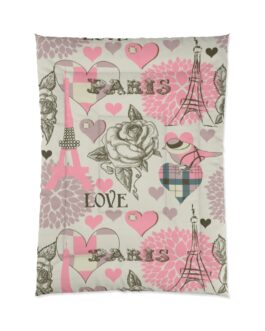 I Love Paris Comforter