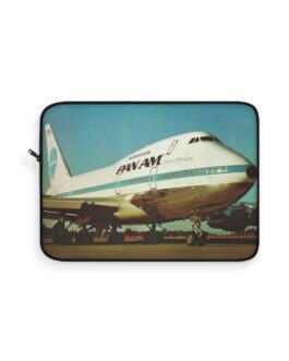 Pan Am 747 Clipper Freedom Laptop Sleeve