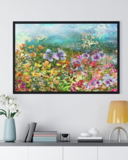Wildflowers In A Field Poster