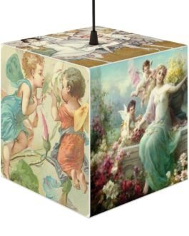Angels And Fairies And Cupids Lamp