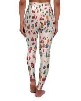 Christmas Icons Yoga Leggings