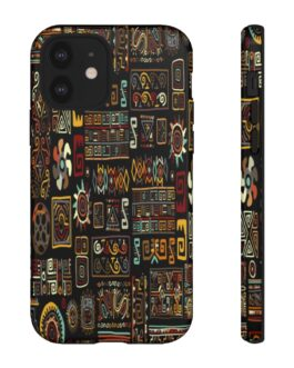Busy Tribal Pattern Tough Phone Case