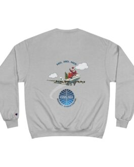 Pan Am Around The World Santa Flight 101 Champion Sweatshirt