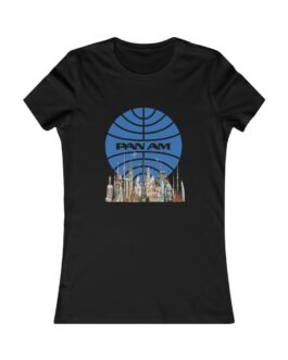 Pan Am And The World's Landmarks On Women's Favorite Tee