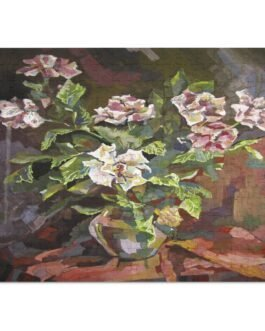 Flowers In A Vase 252 Piece Puzzle
