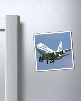 Pan Am 747 In Flight Magnet