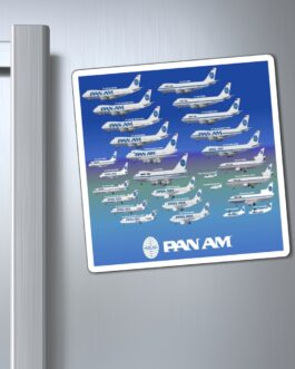 Pan Am All The Pretty Jets Magnet